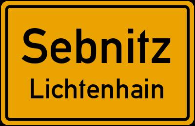 Am Anger in SebnitzLichtenhain