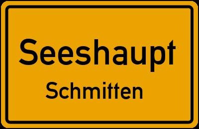 Ortsschild Seeshaupt Schmitten