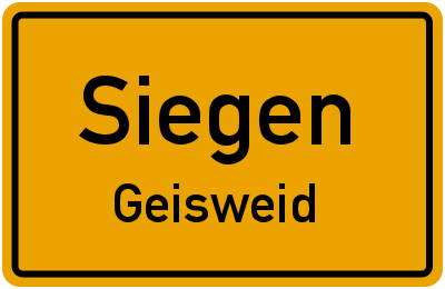 Amselweg in SiegenGeisweid