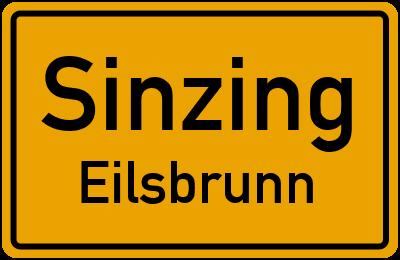 Straßenverzeichnis Sinzing Eilsbrunn