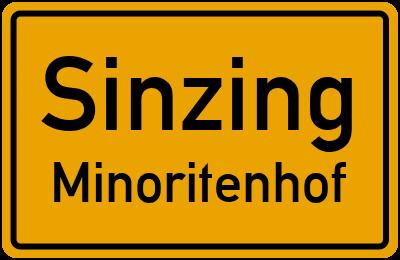 Straßenverzeichnis Sinzing Minoritenhof