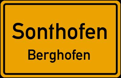Wirtschaftsweg Schwarzer Hag Sonthofen Berghofen