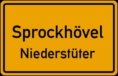 Amselweg in SprockhövelNiederstüter
