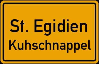 Eisenschachtweg St. Egidien Kuhschnappel
