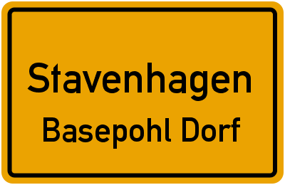 Basepohl in StavenhagenBasepohl Dorf