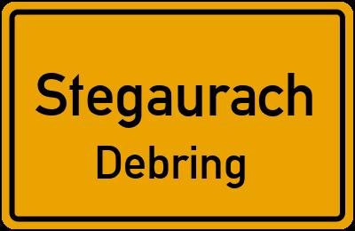 Straßenverzeichnis Stegaurach Debring