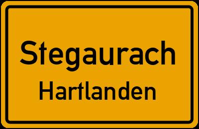 Straßenverzeichnis Stegaurach Hartlanden