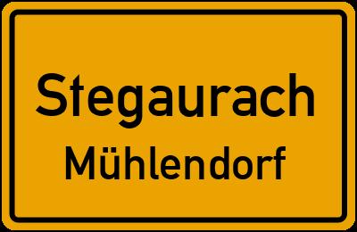Brückenstraße in StegaurachMühlendorf