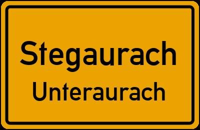 Straßenverzeichnis Stegaurach Unteraurach