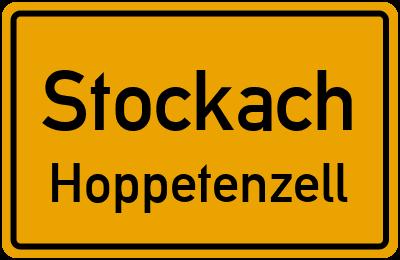 Ortsschild Stockach Hoppetenzell