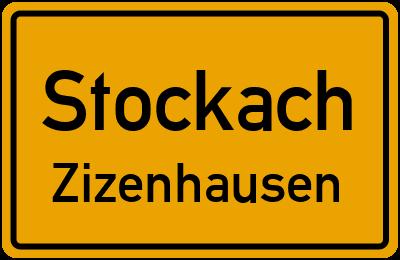 Ortsschild Stockach Zizenhausen