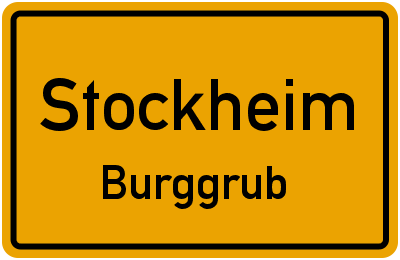 Fabrikstraße in StockheimBurggrub