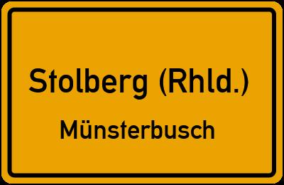 Briefkasten Stolberg (Rhld.) Münsterbusch: Standorte und ...