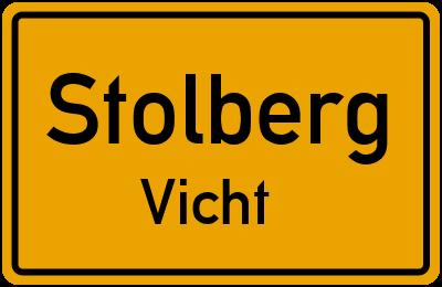 Straßenverzeichnis Stolberg Vicht