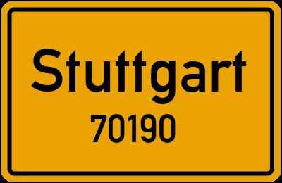 70190 Stuttgart