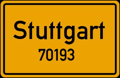 70193 Stuttgart