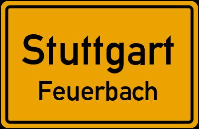 Heilbronner Straße in StuttgartFeuerbach