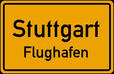 Straßenverzeichnis Stuttgart Flughafen