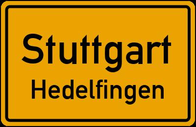 Krautgartenstraße in StuttgartHedelfingen
