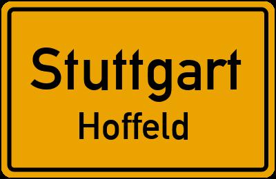 Straßenverzeichnis Stuttgart Hoffeld