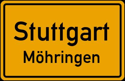 Straßenverzeichnis Stuttgart Möhringen