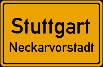 Kurztunnel Stuttgart Neckarvorstadt