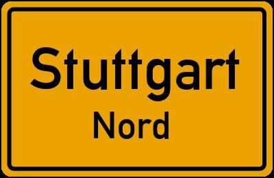 Straßenverzeichnis Stuttgart Nord
