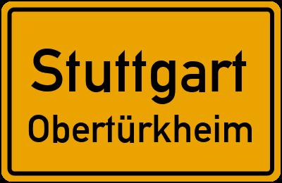 Straßenverzeichnis Stuttgart Obertürkheim