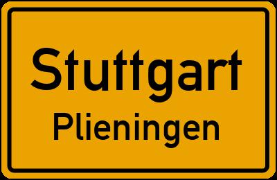 Straßenverzeichnis Stuttgart Plieningen