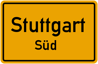 Möhringer Straße in StuttgartSüd
