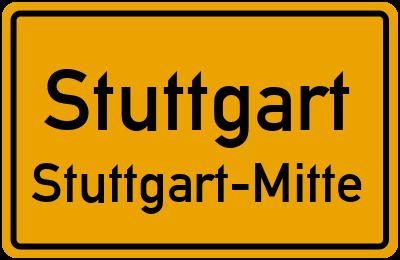 Christophstraße in StuttgartStuttgart-Mitte