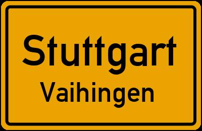 Bassermannstraße in StuttgartVaihingen