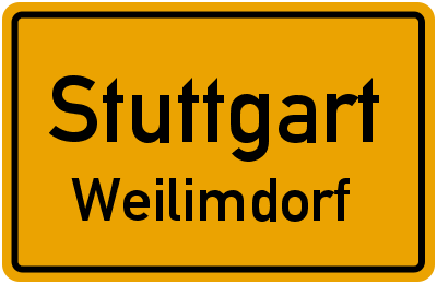 Straßenverzeichnis Stuttgart Weilimdorf