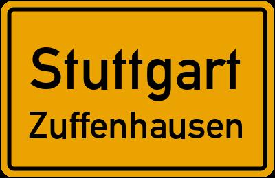 Straßenverzeichnis Stuttgart Zuffenhausen