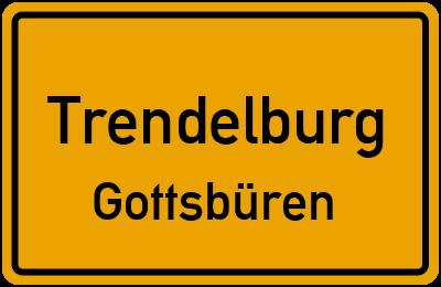 Ortsschild Trendelburg Gottsbüren