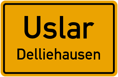 Straßenverzeichnis Uslar Delliehausen