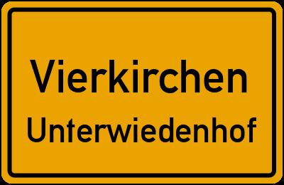 Unterwiedenhof in VierkirchenUnterwiedenhof