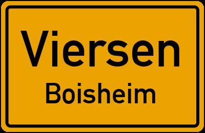 Ortsschild Viersen Boisheim