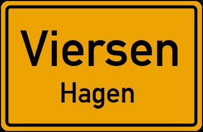 Ortsschild Viersen Hagen
