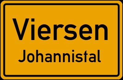 Ortsschild Viersen Johannistal