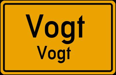 Tilsiter Straße in VogtVogt