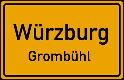 Straßenverzeichnis Würzburg Grombühl