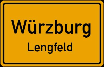 Straßenverzeichnis Würzburg Lengfeld