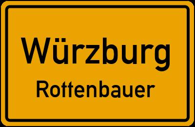 Straßenverzeichnis Würzburg Rottenbauer