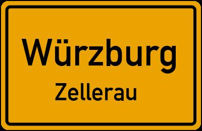 Straßenverzeichnis Würzburg Zellerau