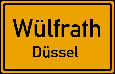 Amselweg in WülfrathDüssel