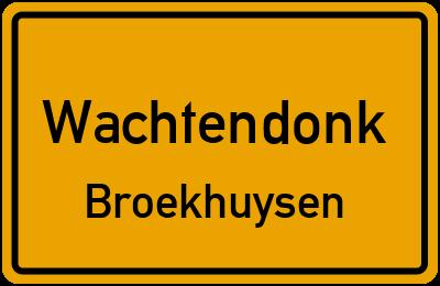 Broekhuysenweg Wachtendonk Broekhuysen