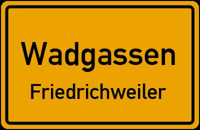 Forsthausstraße in WadgassenFriedrichweiler