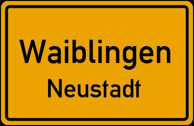 Klinglestalstraße Waiblingen Neustadt