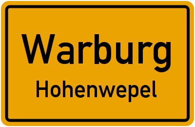 Karl-Lippert-Weg in WarburgHohenwepel